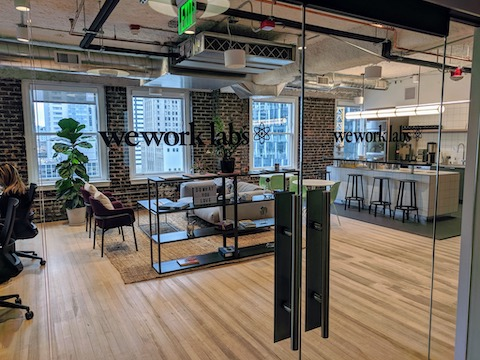 WeWork Labs in Seattle